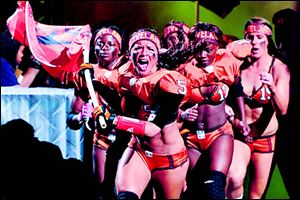 The Crush of the Legends Football League will soon play in Toledo.