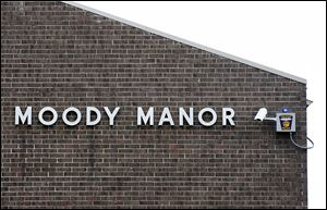Vistula Management Co. paid for Toledo police to install 41 cameras inside and outside of the Moody Manor. The security cameras will be monitored at the TPD's Real Time Crime Center.