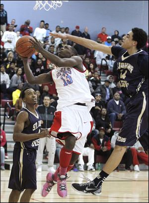 Bowsher 6-foot-1 senior Dajuan King is averaging 18.8 points per game. The Rebels have topped 100 points three times.