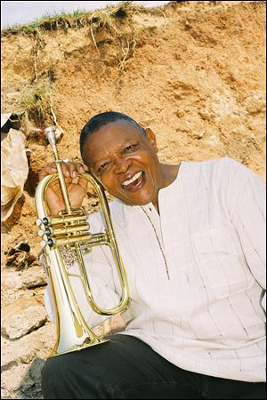 South African trumpeter Hugh Masekela closed out BGSU's Festival Series.