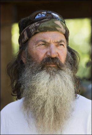 Phil Robertson from the popular A&E series 'Duck Dynasty.'