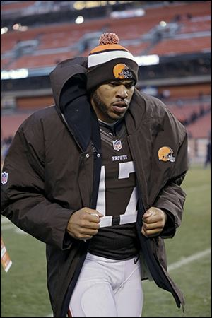 Jason Campbell has had a disappointing season for the Browns. He's 1-6 as the starter.