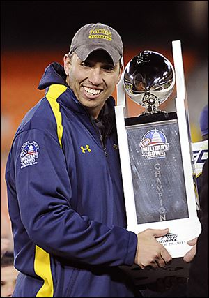 As interim coach, Matt Campbell led UT to a win in the 2011 Military Bowl. He received $50,000 in bonuses.
