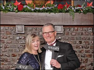 Nancy Alter and Timothy Alter, also Holly Ball sponsors.