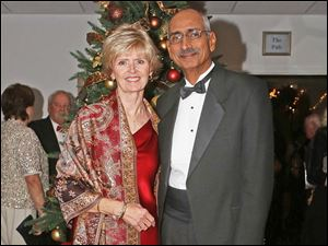 Susan and Sarge Purewal, of Perrysburg, attended the Winter Ball at Belmont Country Club in Perrysburg.