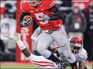 Braxton Miller led Ohio State to another 12-0 regular season but the Buckeyes lost in the Big Ten championship game.