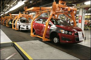 Annual exports of U.S.-made vehicles rose 80 percent from 2009 through 2012.