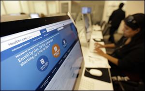 The Obama administration says following a December surge, more than 1.1 million people have now enrolled for health insurance through the federal government's improved website.