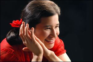 German-Japanese pianist Kimiko Ishizaka will perform at Kerrytown Concert House in Ann Arbor at 4 p.m. Jan. 12.