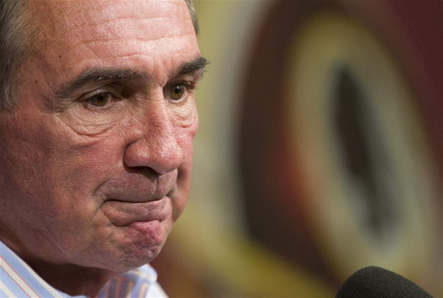 Redskins-Shanahan-Fired-Football