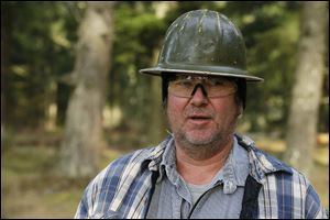 Despite working as a logger all his life, Tom Edwards is pessimistic about his chances of ever retiring, an opinion common among blue-collar baby boomers in the U.S.