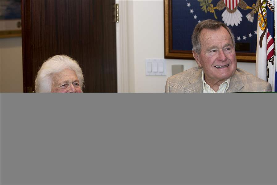 Barbara-Bush-Hospitalized