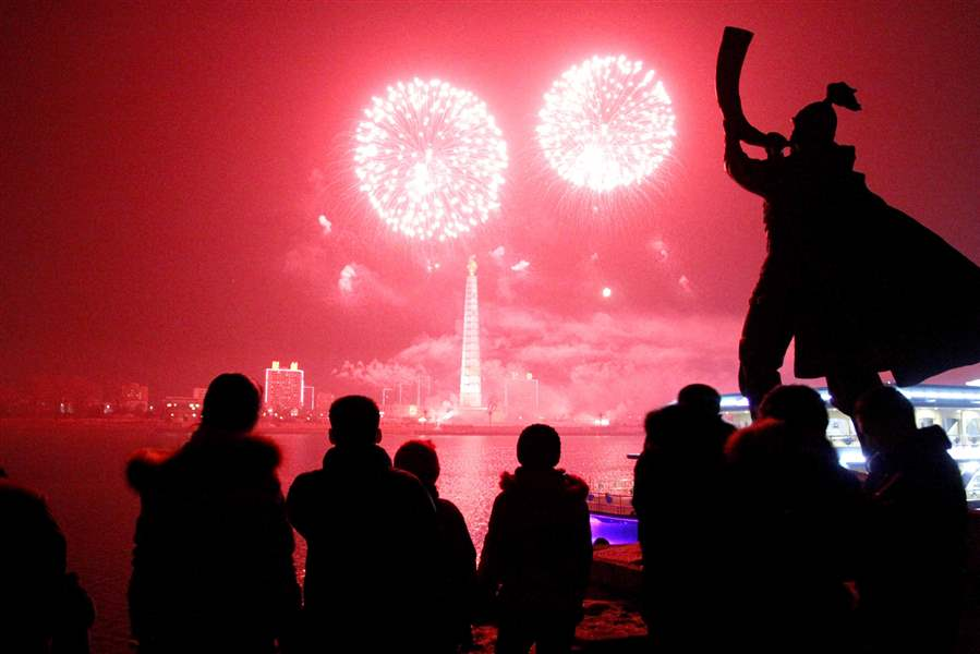APTOPIX-North-Korea-New-Years-Eve