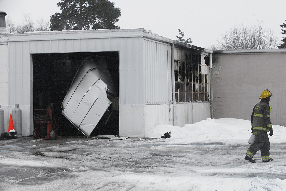 Pike Delta York School District Maintenance Garage Hit By