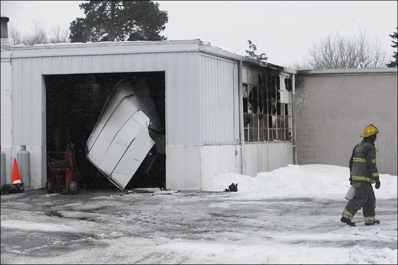 Pike Delta York School District Maintenance Garage Hit By
