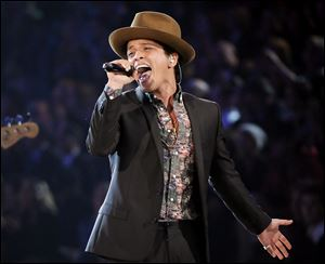 Bruno Mars will perform at this year's Super Bowl.