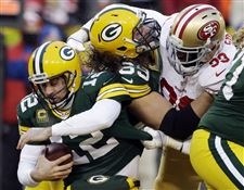 APTOPIX-49ers-Packers-Football