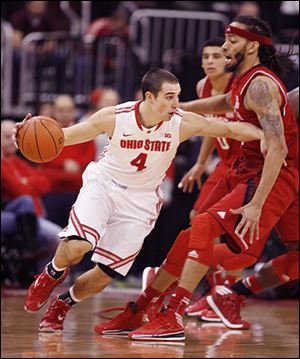 Ohio State's Aaron Craft is the reigning Big Ten Player of the Week.