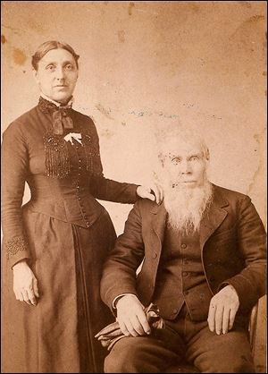 Alpheus Cass, with his wife, Catherine, was one of seven co-founders of Trinity United Methodist Church.