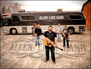 The Allen Lane Band of Louisville will play Saturday at Sneaky Pete's Saloon.