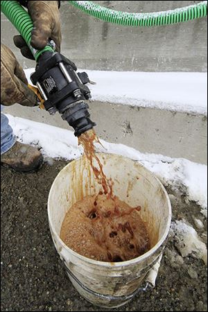 Beet juice is used by some highway crews to melt ice on roads because rock salt  is largely ineffective below 16  degrees.