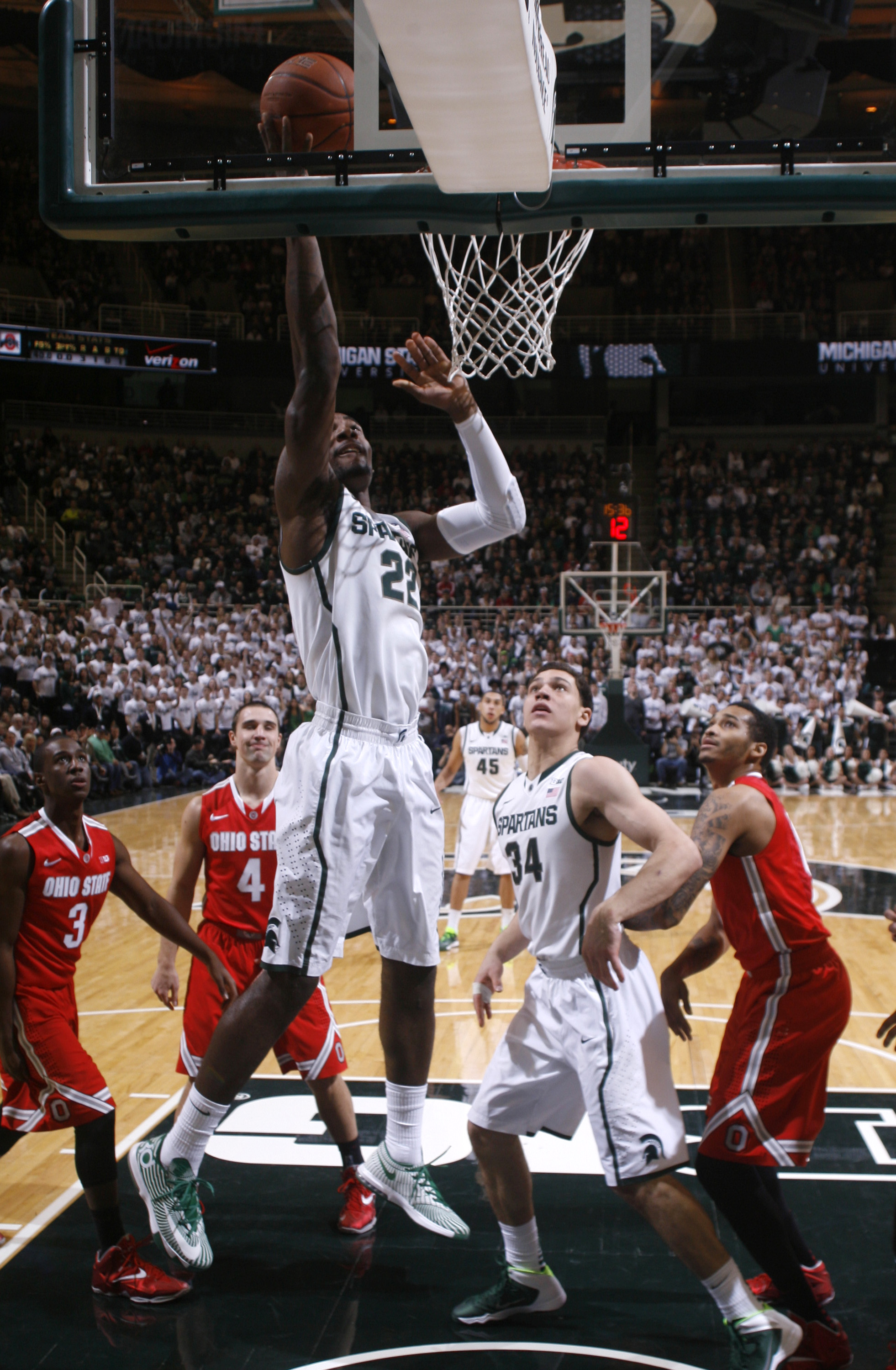 Made In Michigan >> No. 5 Michigan State beats No. 3 Ohio State 72-68 - The Blade