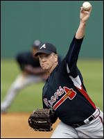 Atlanta Braves pitcher Tom Glavine