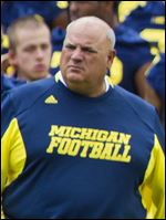 Michigan offensive coordinator Al Borges.