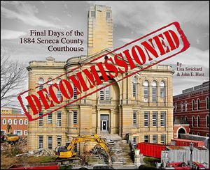 A German dinner and auction Saturday in Tiffin will raise money to help offset costs of printing a book that chronicled  the two-year fight to save the Seneca County Courthouse and ultimately its end.