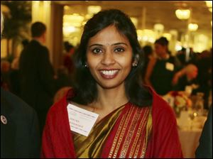 Devyani Khobragade, India's deputy consul general, during is heading home to India today after being indicted by a federal grand jury in Manhattan and then ordered to leave the country. She was accused of underpaying her housekeeper in New York and then lying about it on a visa form.