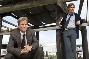 Woody Harrelson, left, and Matthew McConaughey from the HBO series 'True Detective.'