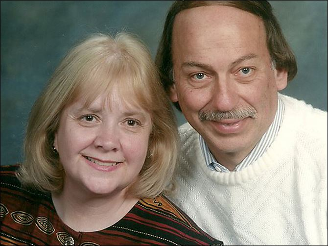 n7flu Jim Bucklew said his wife, Connie, became sick after New Year's Day. She is one of two flu-related deaths from the H1N1 strain in Lucas County.