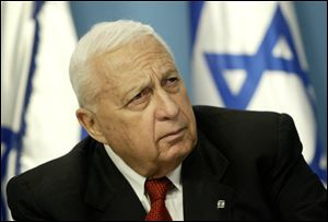 Ariel Sharon was elected prime minister in 2001, and despite his hardline views, led Israel's historic withdrawal from the Gaza Strip in 2005.