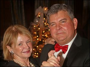 June and Erwin Effler attended the Cotillion Club Dinner Dance at the Toledo Club.