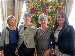Mary Beth Maloney, Pam Herschel, Jane George and Sanaa Orra.