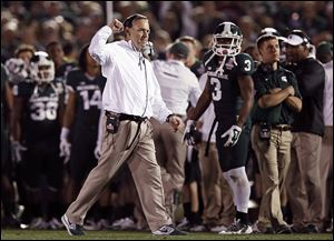 Coach Mark Dantonio guided No. 3 Michigan State to the Big Ten championship and its highest final ranking since 1966.