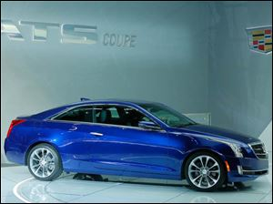 The Cadillac ATS Coupe is debuts at the North American International Auto Show.