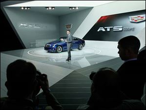 Andrew Smith, executive director of Global Cadillac design, speaks about the 2015 ATS Coupe.