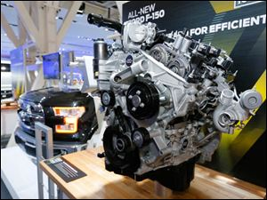 Ford's 2.7L Ecoboost engine for the Ford F-150.