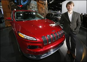 Jeep Chief Executive Officer Mike Manley says the Toledo-built Cherokee is being shipped to China, and will soon be sent to European showrooms as part of a sales push. The vehicle went on sale in October.