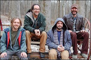 Cincinnati Bluegrass/Americana band the Rumpke Mountain Boys will perform at Frankie's Inner-City today.