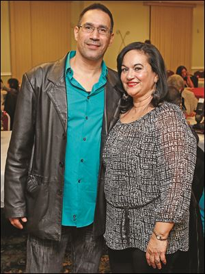 Nelson and Carmen Perez at the 18th Annual Three Kings Day Celebration.