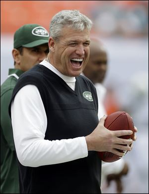 The Jets have signed head coach Rex Ryan to a contract extension, removing the lame duck label and keeping him with the franchise for at least the next two years.