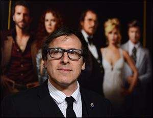 David O. Russell's Abscam comedy-drama 'American Hustle' received 10 Academy Award nominations Thursday.