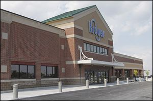 A new  Kroger on Conant Street in Maumee was built on the former site of an automobile dealership.