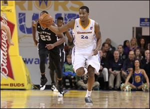 Former Libbey High and Ohio State star William Buford plays with the Santa Cruz Warriors in the NBA Developmental League. He averages 10.6 points and 24 minutes per game.