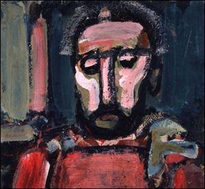 Georges Rouault (French, 1871-1958), The Judge. Oil on canvas, ca. 1937.