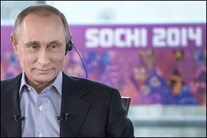 Russian President Vladimir Putin, who has staked his personal and political prestige on the security of the Sochi Games, said Russia will do 'whatever it takes' to keep participants and guests safe.