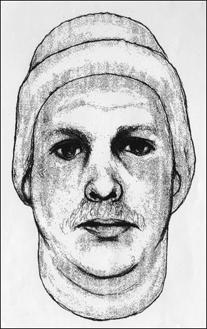 Sketch released of suspect in attempted abduction, sexual assault of 14-year-old girl on Friday in downtown Toledo.