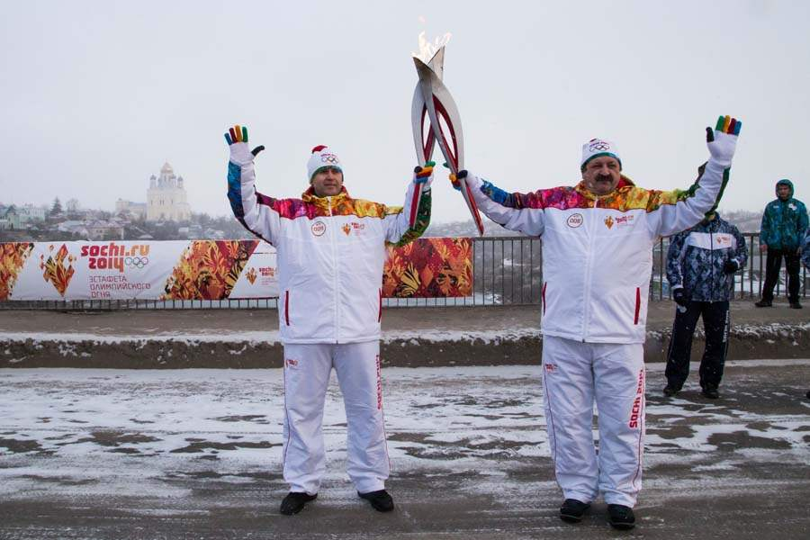 Russia-Sochi-Torch-Relay-YELETS-JAN-14